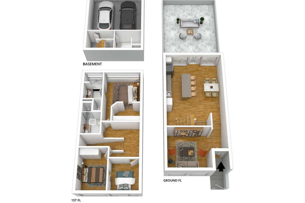Floorplan of Homely house listing, 7/3 Runge Place, Norwood SA 5067