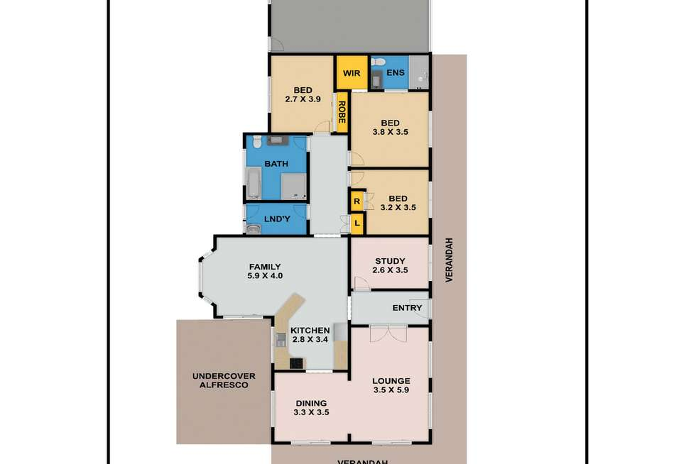 Floorplan of Homely house listing, 20 Winnifred Road, Mcgraths Hill NSW 2756