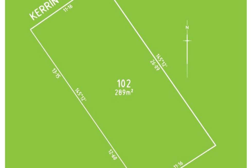 Floorplan of Homely residentialLand listing, 5 Kerrin Avenue, Morphett Vale SA 5162