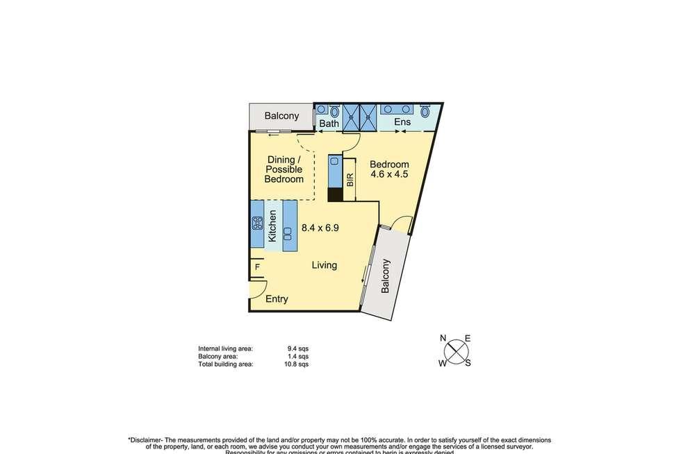Floorplan of Homely apartment listing, 5/786 Esplanade, Mornington VIC 3931