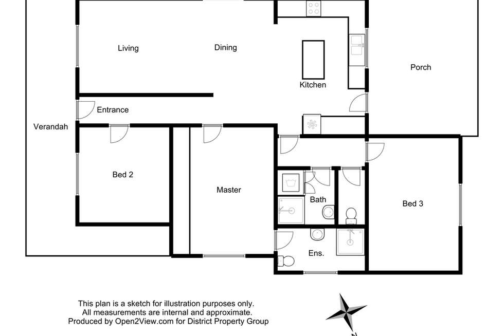 Floorplan of Homely house listing, 9 The Parade, Mansfield VIC 3722