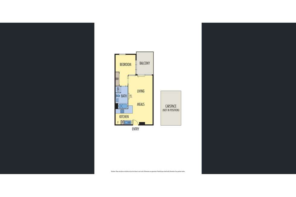 Floorplan of Homely apartment listing, 210/232-242 Rouse Street, Port Melbourne VIC 3207