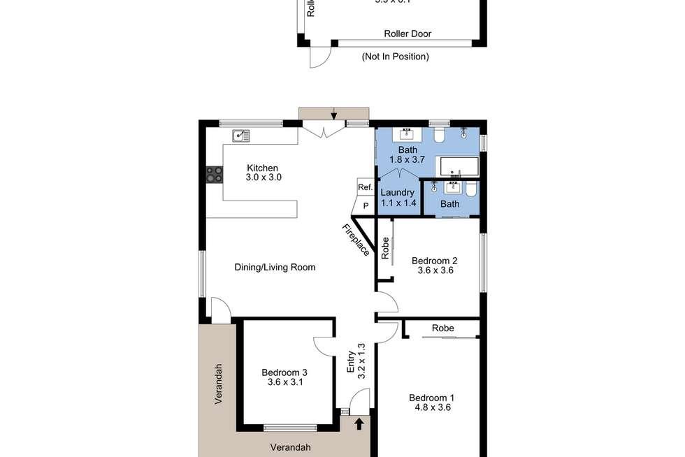 Floorplan of Homely house listing, 9 Date Street, Adamstown NSW 2289