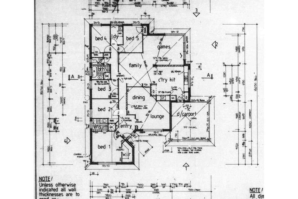 Floorplan of Homely house listing, 5 Darvel Close, Kinross WA 6028