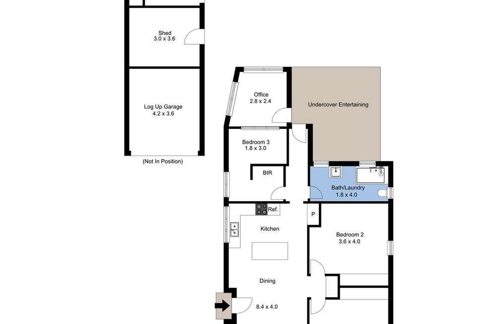 Floorplan of Homely house listing, 58 Birdwood Street, New Lambton NSW 2305