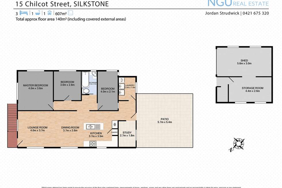 Floorplan of Homely house listing, 15 Chilcot Street, Silkstone QLD 4304