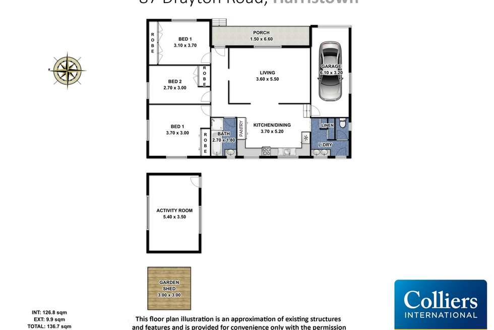 Floorplan of Homely house listing, 87 Drayton Road, Harristown QLD 4350