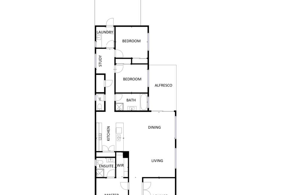 Floorplan of Homely house listing, 30 Omeara Street, Wodonga VIC 3690