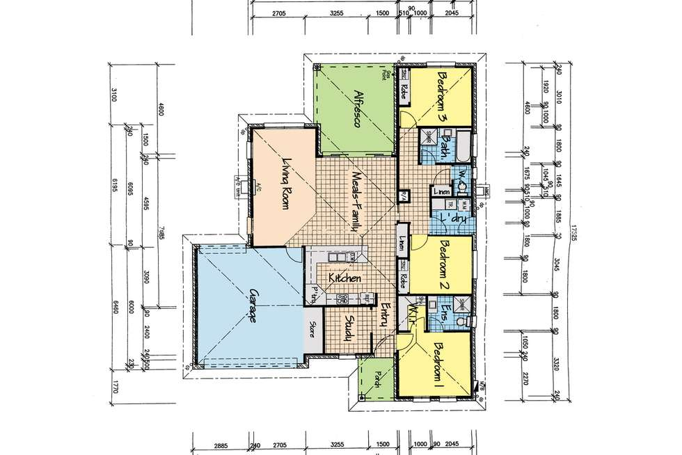 Floorplan of Homely house listing, 6 Camellia Close, Sale VIC 3850