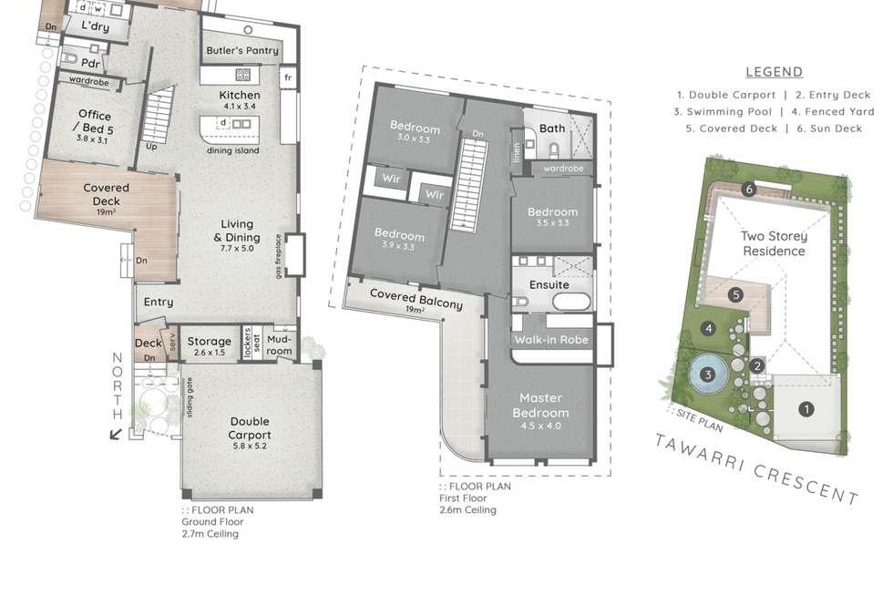 Floorplan of Homely house listing, 24 Tawarri Crescent, Burleigh Heads QLD 4220