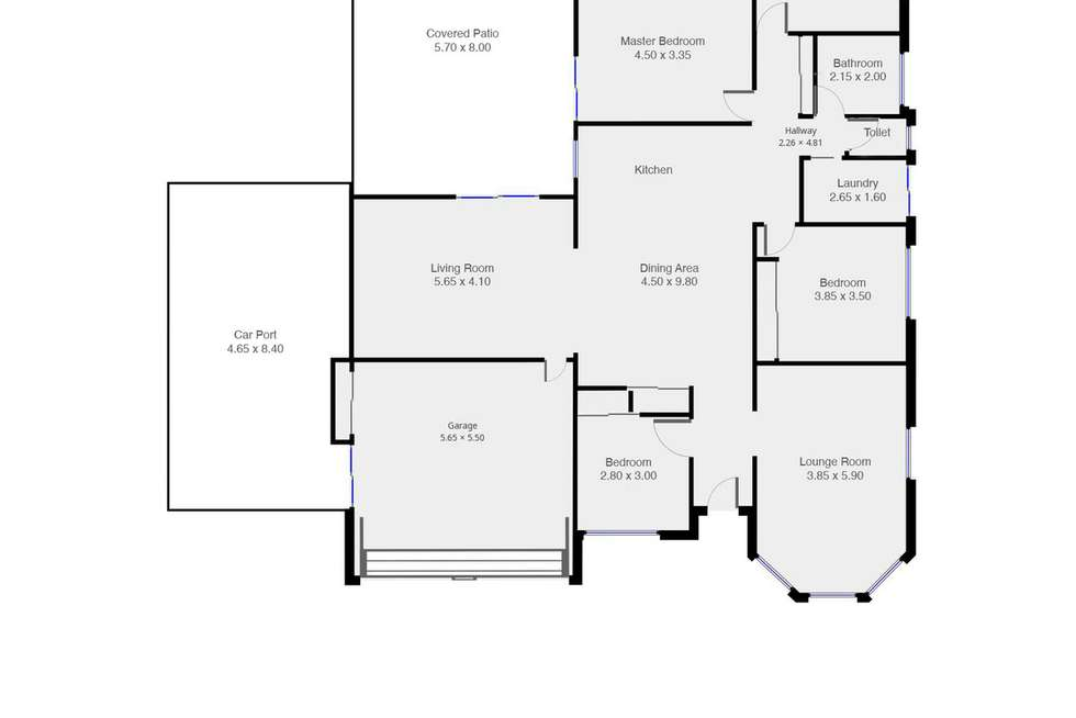 Floorplan of Homely house listing, 33 Lockwood Crescent, Manly West QLD 4179