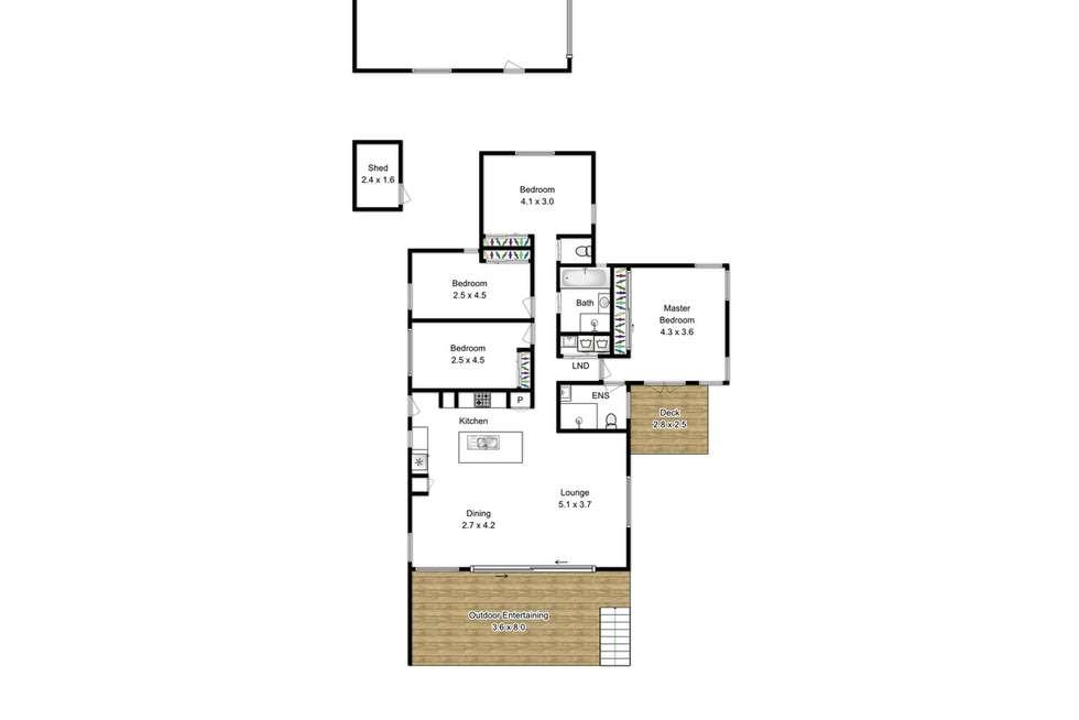 Floorplan of Homely house listing, 68 Pilliga Street, Virginia QLD 4014