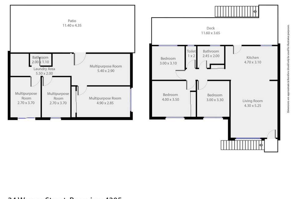 Floorplan of Homely house listing, 34 Warner Street, Raceview QLD 4305