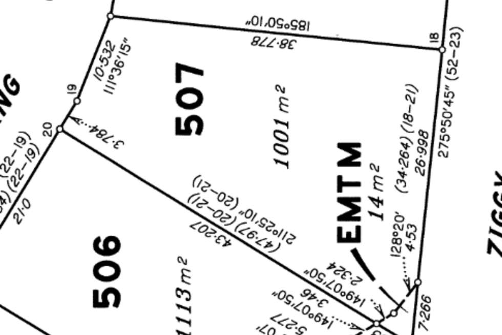 Floorplan of Homely residentialLand listing, Lot 507 Goessling Street, Gordonvale QLD 4865