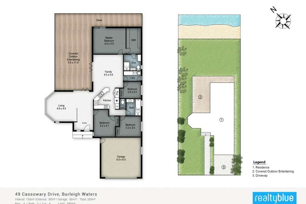 Floorplan of Homely house listing, 49 Cassowary Drive, Burleigh Waters QLD 4220