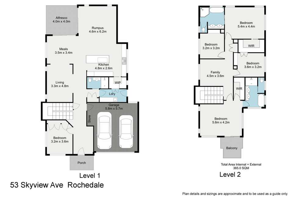 Floorplan of Homely house listing, 53 Skyview Avenue, Rochedale QLD 4123