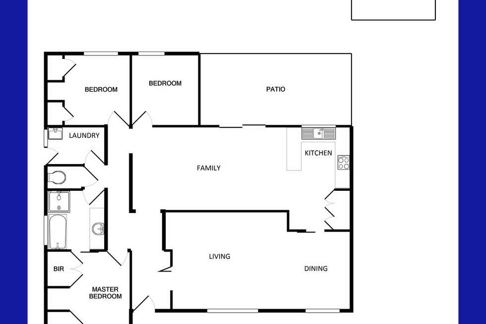 Floorplan of Homely house listing, 33 Latimer Way, Langford WA 6147