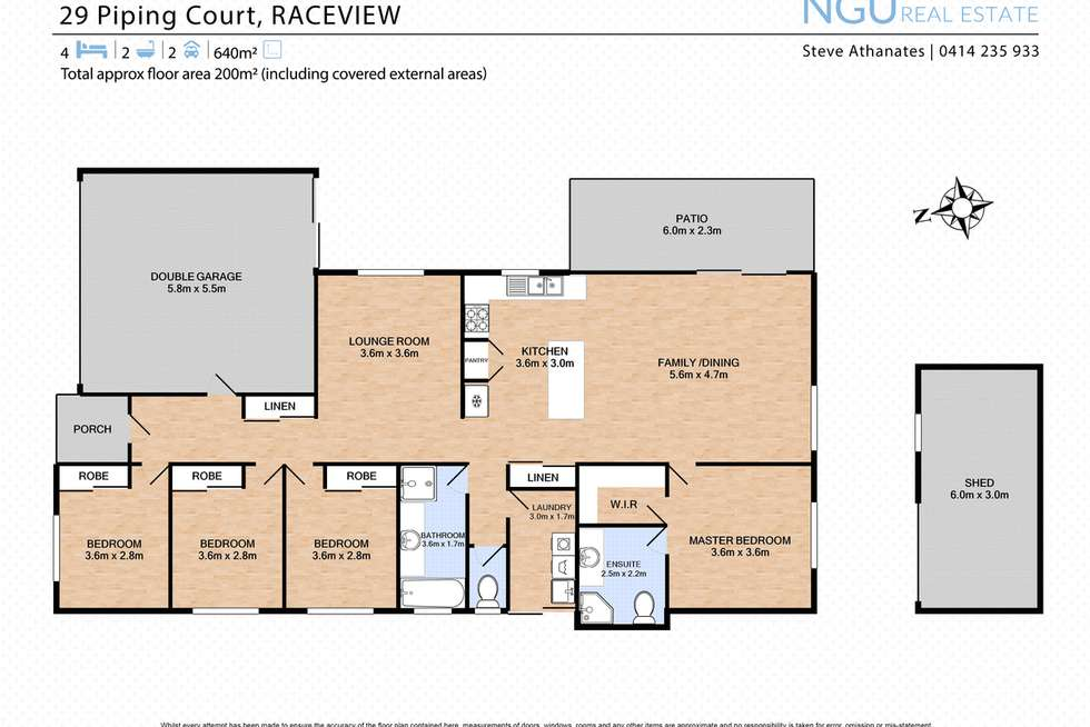 Floorplan of Homely house listing, 29 Piping Court, Raceview QLD 4305