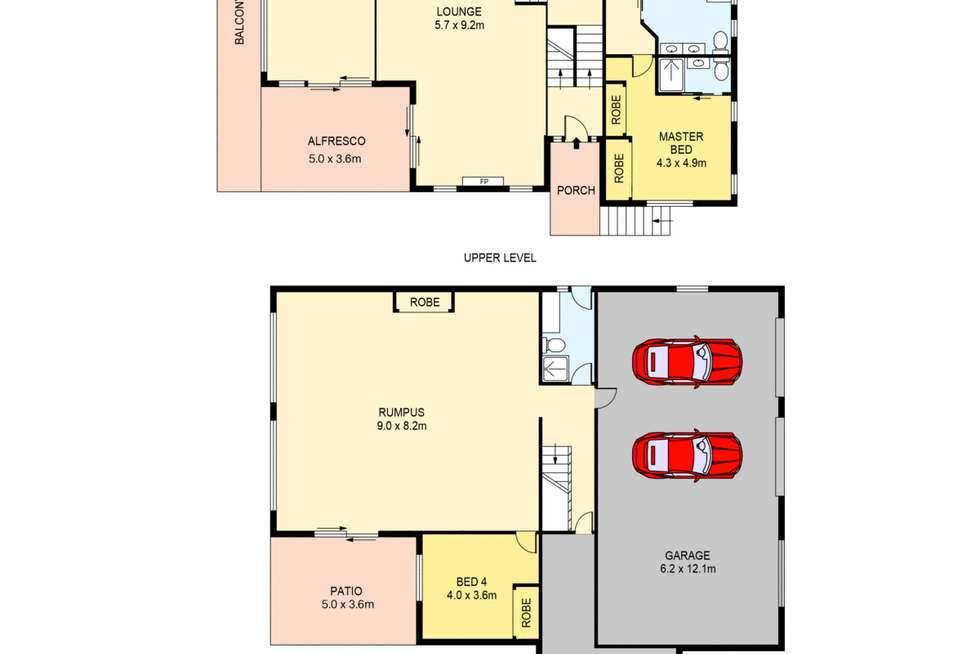 Floorplan of Homely house listing, 49 Lakedge Avenue, Berkeley Vale NSW 2261
