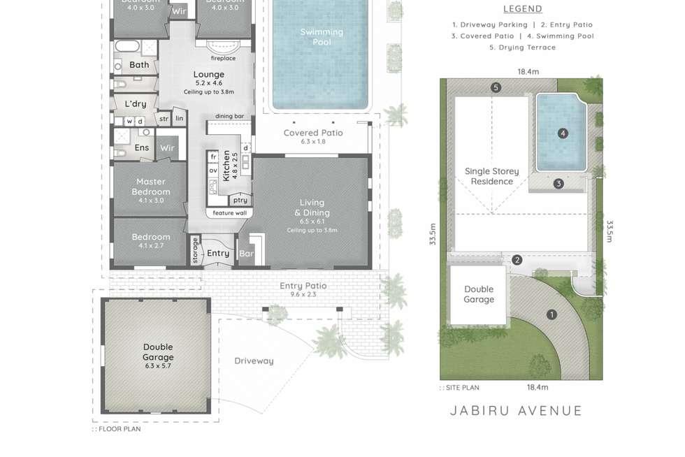 Floorplan of Homely house listing, 19 Jabiru Avenue, Burleigh Waters QLD 4220