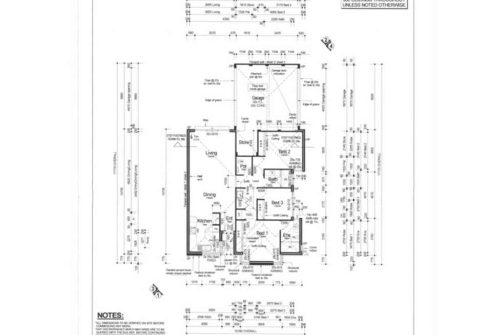 Floorplan of Homely house listing, 7 Nashville Loop, Currambine WA 6028