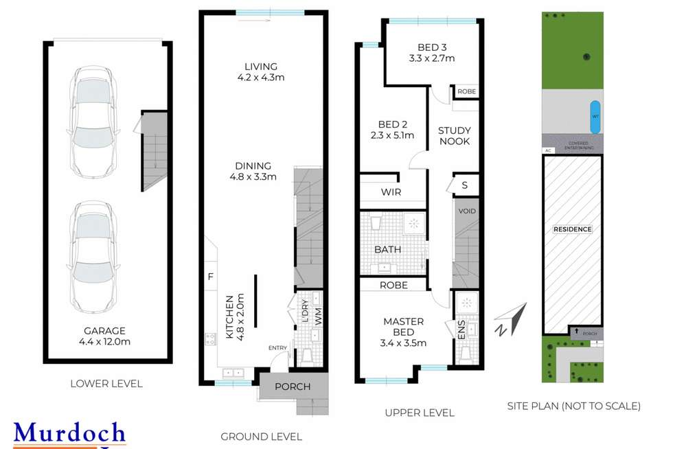 Floorplan of Homely townhouse listing, 9/24-28 Norval Street, Auburn NSW 2144