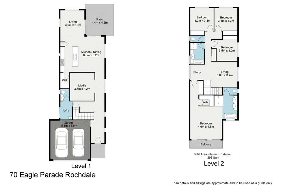 Floorplan of Homely house listing, 70 Eagle Parade, Rochedale QLD 4123