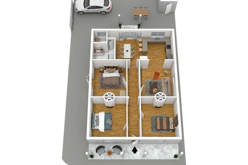 Floorplan of Homely house listing, 2 Wellesley Avenue, Evandale SA 5069