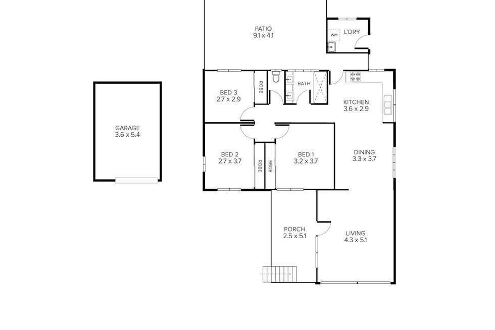 Floorplan of Homely house listing, 4 Tara Street, Stafford Heights QLD 4053