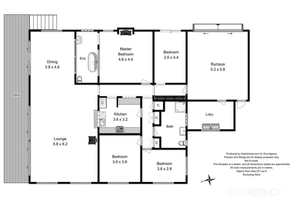 Floorplan of Homely house listing, 123 Green Point Road, Marrawah TAS 7330