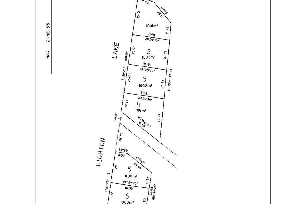 Floorplan of Homely residentialLand listing, 144 Highton Lane, Mansfield VIC 3722