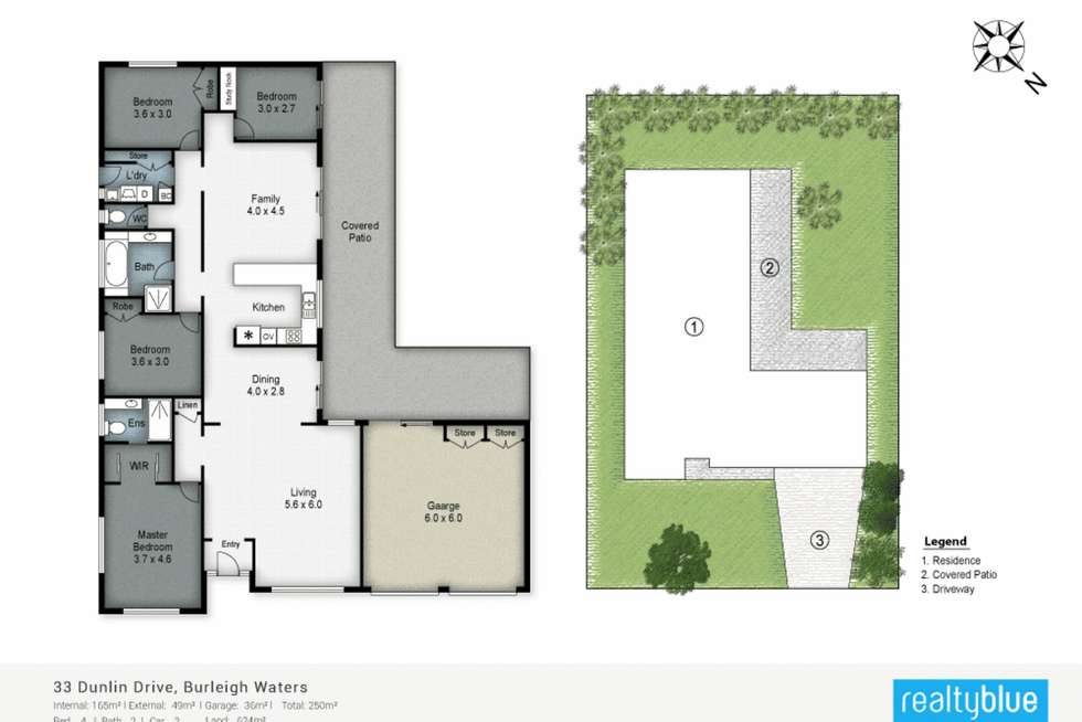 Floorplan of Homely house listing, 33 Dunlin Drive, Burleigh Waters QLD 4220