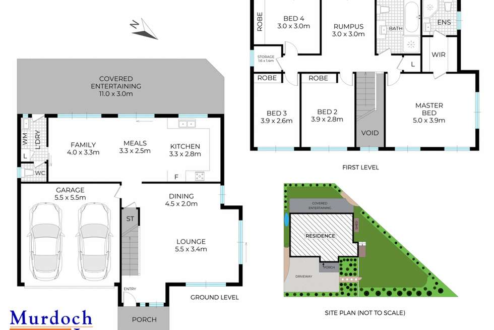 Floorplan of Homely house listing, 159 New Line Road, Cherrybrook NSW 2126