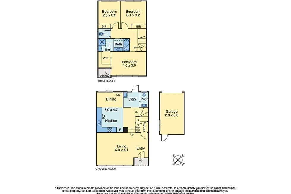 Floorplan of Homely townhouse listing, 5/776-779 Esplanade, Mornington VIC 3931