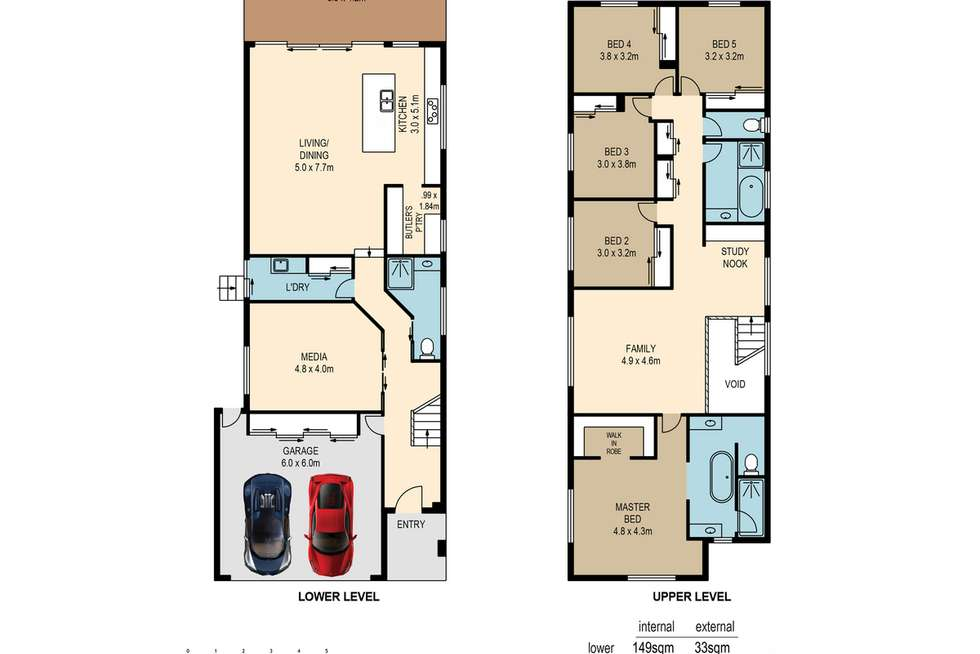Floorplan of Homely house listing, 107 Hecklemann Street, Carina Heights QLD 4152