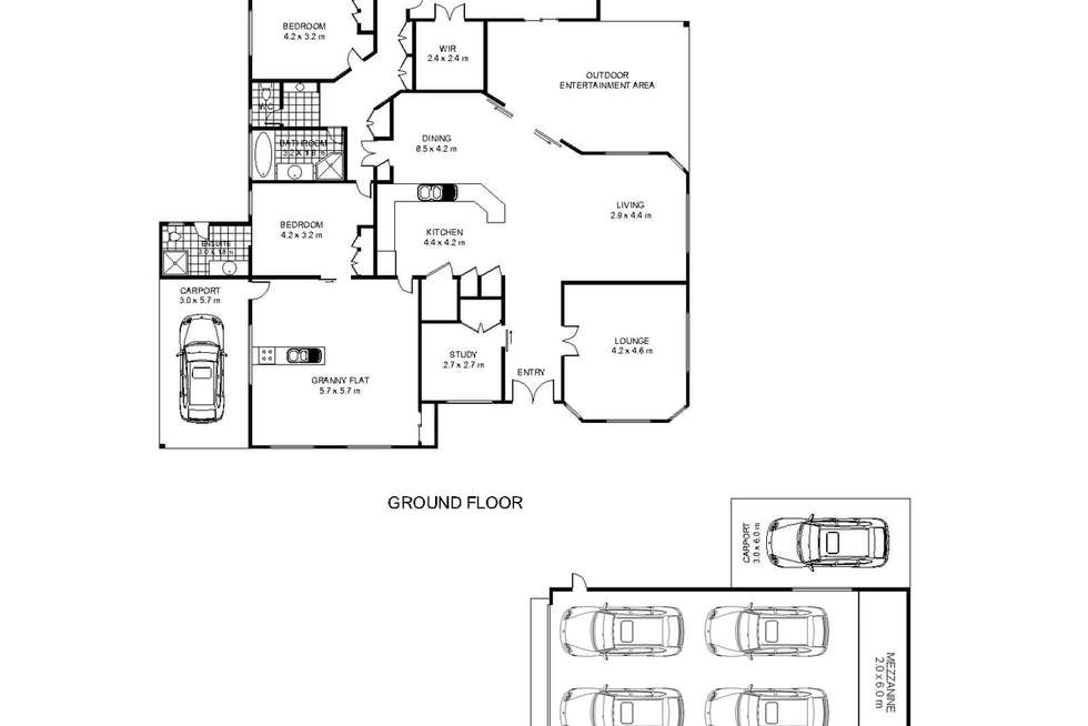 Floorplan of Homely house listing, 10 Manooka Crescent, Highfields QLD 4352