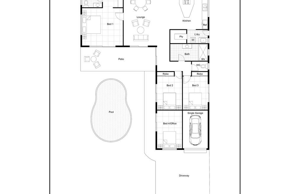 Floorplan of Homely house listing, 6 Satellite Street, Clifton Beach QLD 4879