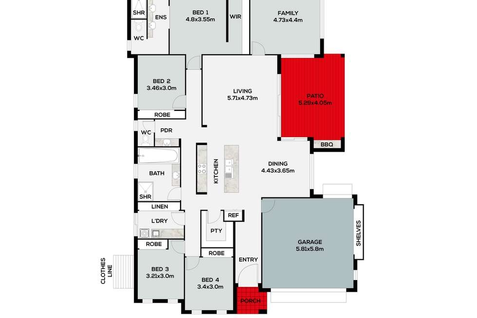 Floorplan of Homely house listing, 26 Wilderness Circuit, Little Mountain QLD 4551