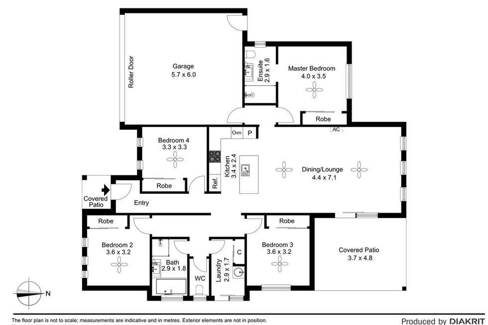 Floorplan of Homely house listing, 18 Lenton Court, Burpengary QLD 4505