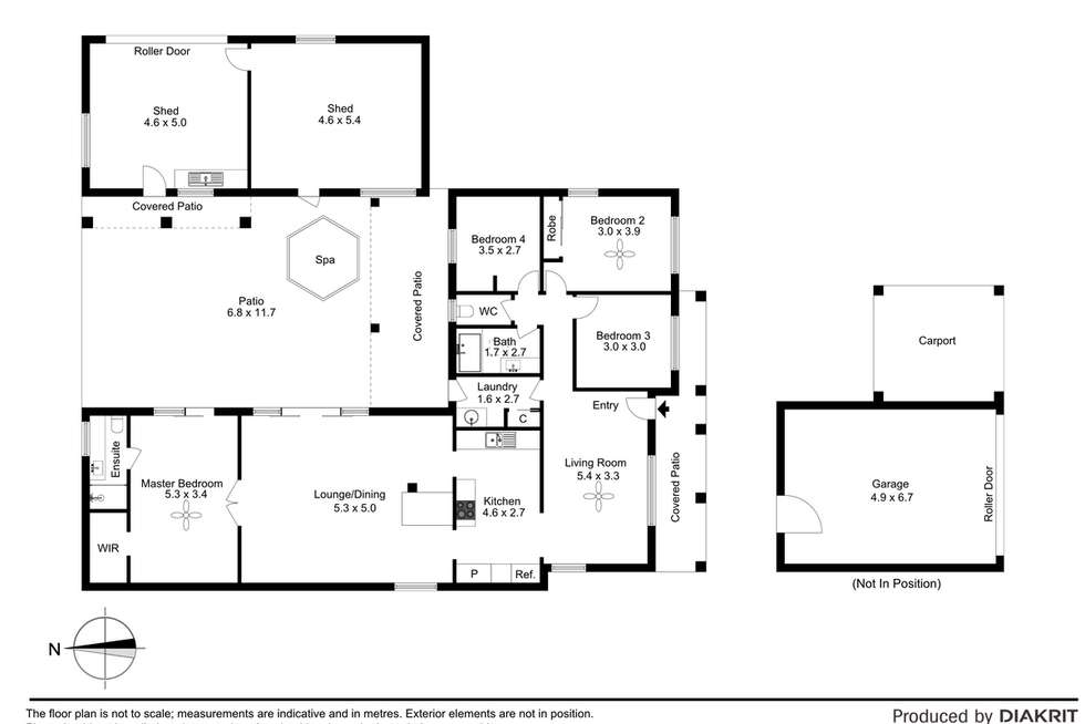 Floorplan of Homely house listing, 19 Fernando Street, Burpengary QLD 4505