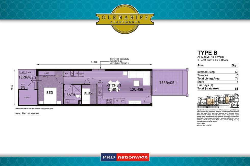 Floorplan of Homely apartment listing, 14/1 Glenariff Boulevard, Canning Vale WA 6155