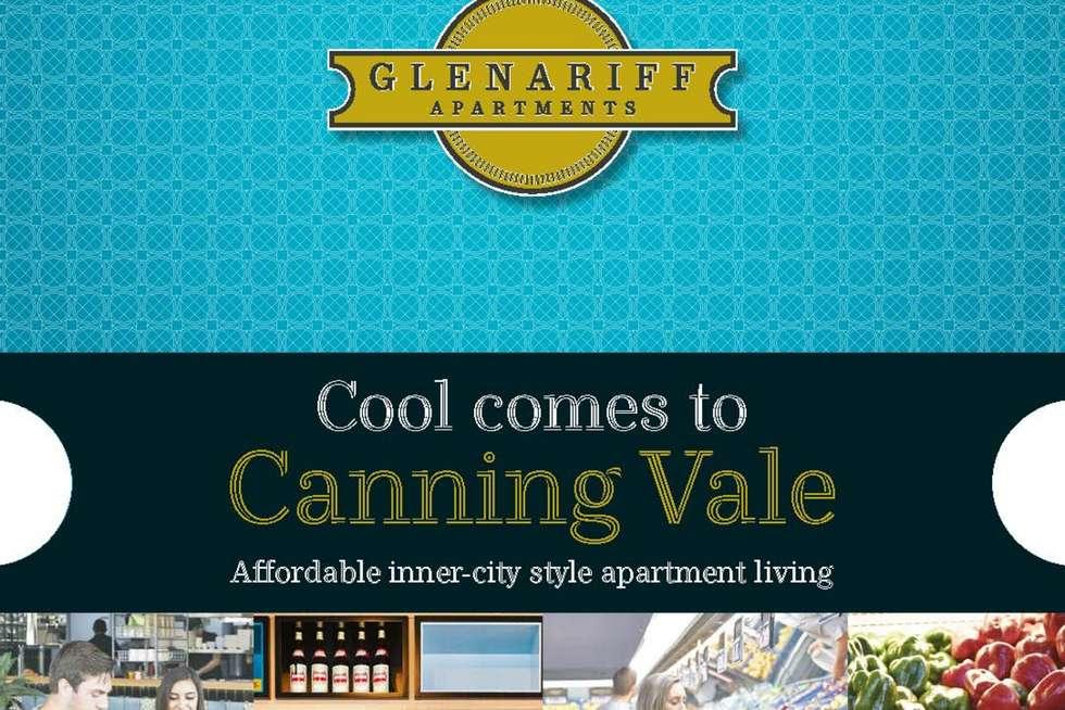 Floorplan of Homely unit listing, 44/1 Glenariff Boulevard, Canning Vale WA 6155