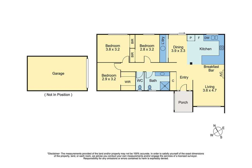 Floorplan of Homely unit listing, 4/21 Van Ness Avenue, Mornington VIC 3931