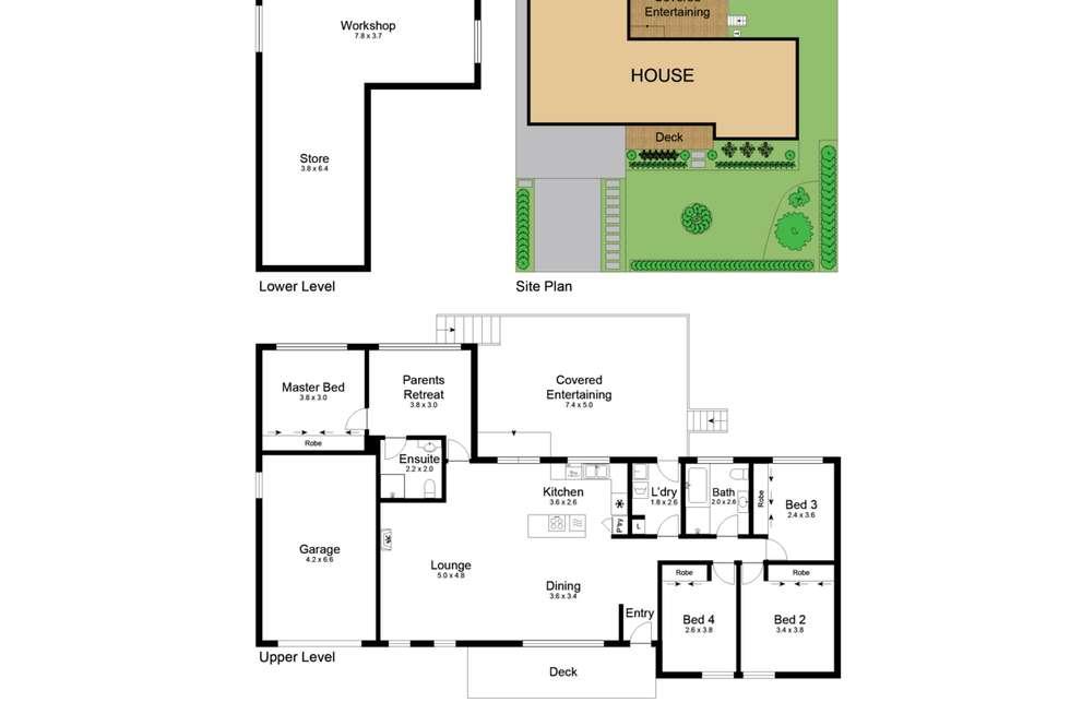 Floorplan of Homely house listing, 7 Brushwood Avenue, Kincumber NSW 2251