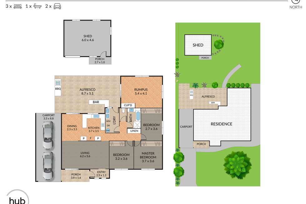 Floorplan of Homely house listing, 7 Parliament Street, Bethania QLD 4205