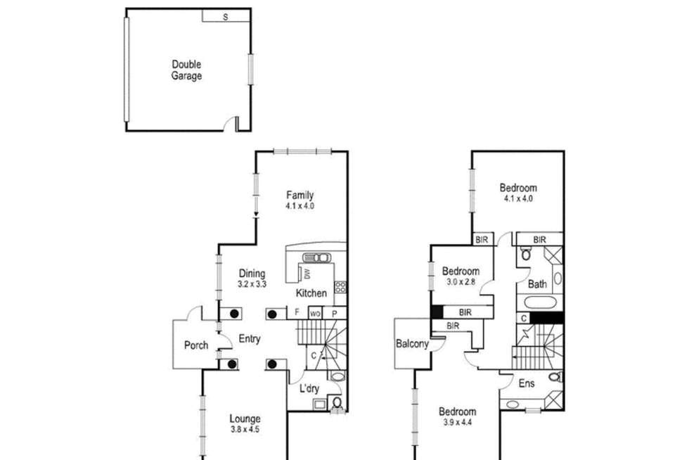 Floorplan of Homely house listing, 10 Swallow Street, Port Melbourne VIC 3207