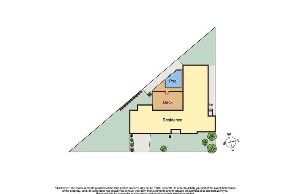 Floorplan of Homely house listing, 1 Koornalla Crescent, Mount Eliza VIC 3930