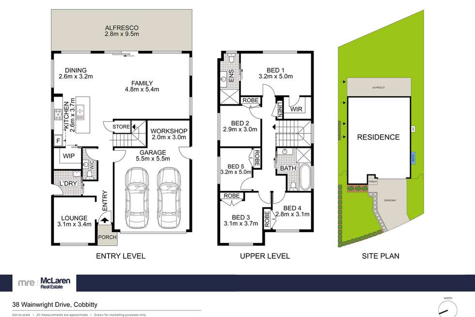 Floorplan of Homely house listing, 38 Wainwright Drive, Cobbitty NSW 2570