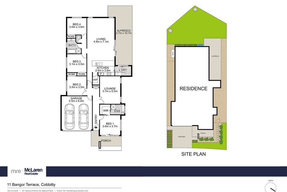 Floorplan of Homely house listing, 11 Bangor Terrace, Cobbitty NSW 2570
