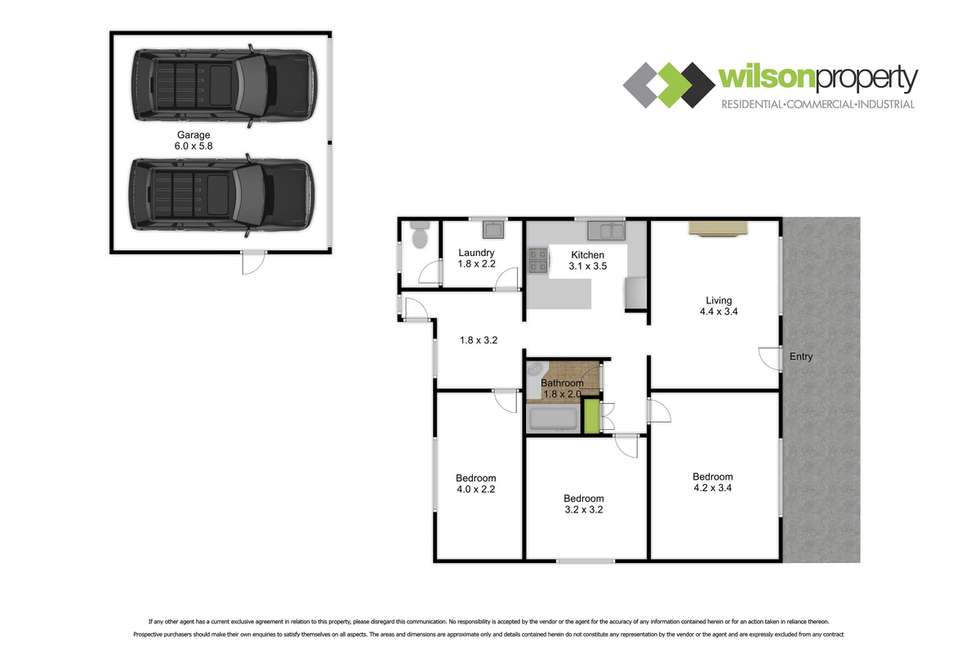 Floorplan of Homely house listing, 175 Grey Street, Traralgon VIC 3844